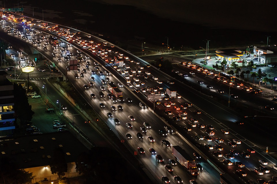 traffic jams IELTS PTE