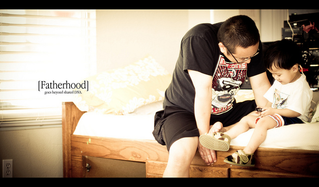 fatherhood and motherhood ielts essay